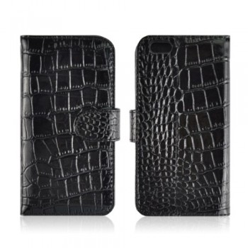 etui-iphone-6-6s-cuir-veritable-portefeuille-crocodile-finition-glossy-1